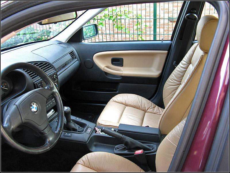 "Meine ehemalige cordobarote 320i Limo - 17"" Azev A - 3er BMW - E36"