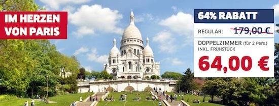 Paris günstig übernachten