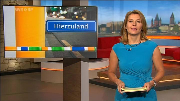 Patricia Küll - SWR Landesschau Rheinland-Pfalz - am 17