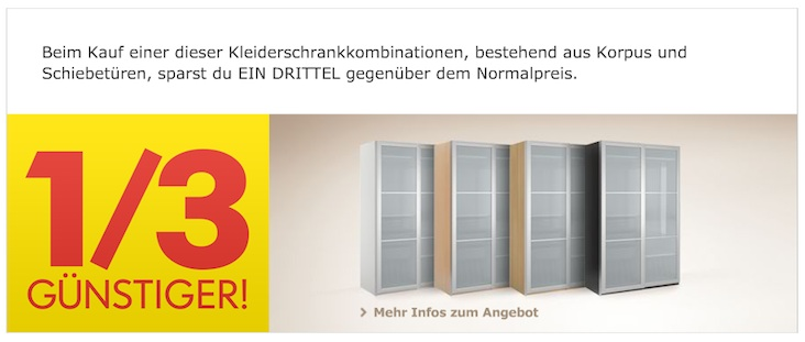 ikea 33 rabatt auf pax kleiderschrankelemente bis zum 27 februar. Black Bedroom Furniture Sets. Home Design Ideas
