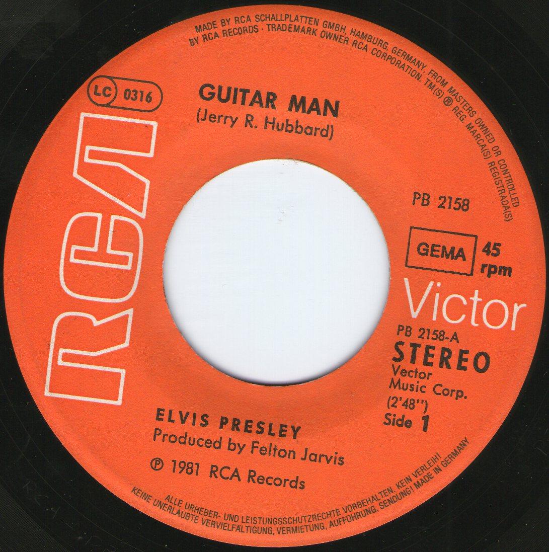 Guitar Man / Faded Love Pb21582dwu4k