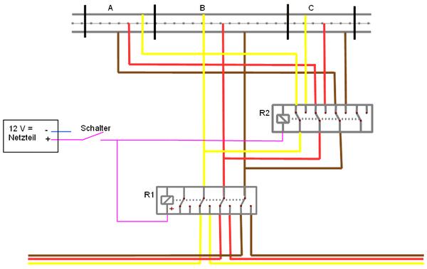 Brauche Hilfe für Elektronik-Bauteile: Relais - Stummis Modellbahnforum
