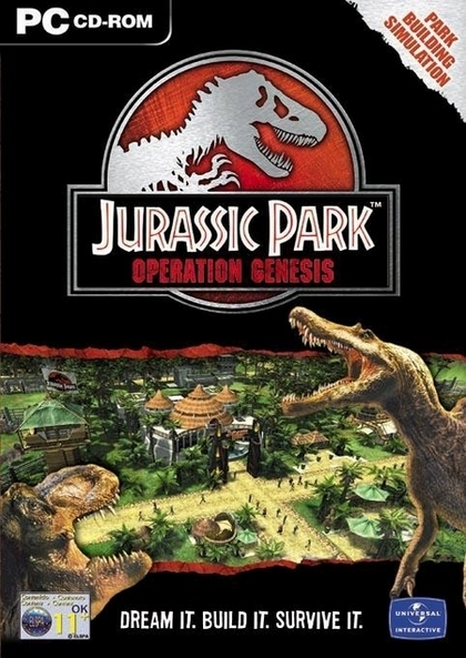 Jurassic Park: Operation Genesis Deutsche  Texte, Untertitel, Menüs, Videos, Stimmen / Sprachausgabe Cover