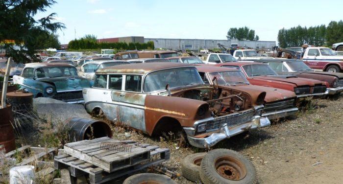 Cmentarzysko samochodów #2 1