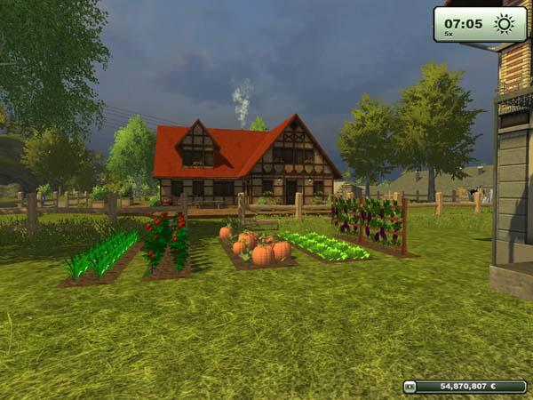 Placeable gardenbeds v 1.0 [MP]