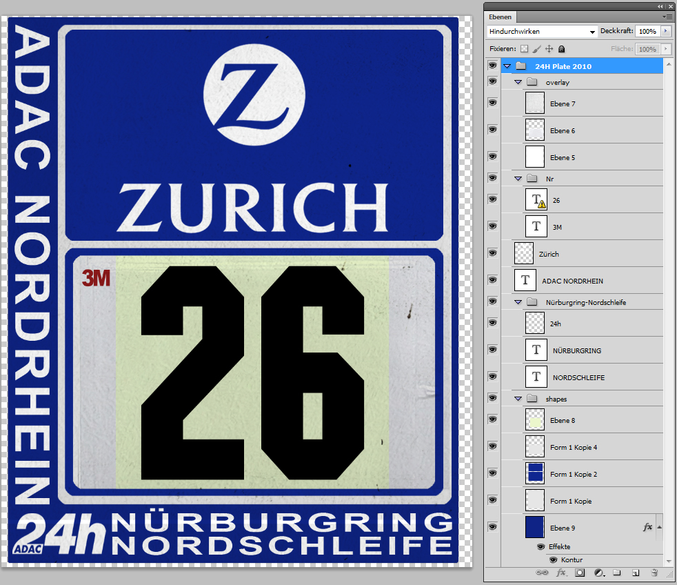 more than just pixels n rburgring 24h number plate template