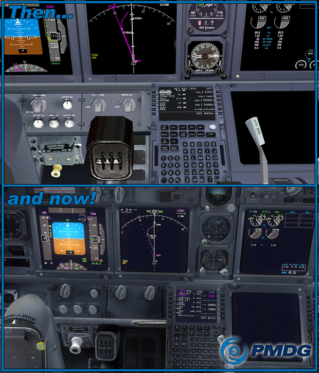 One of the things that we set out to accomplish with the PMDG 737 NGX was