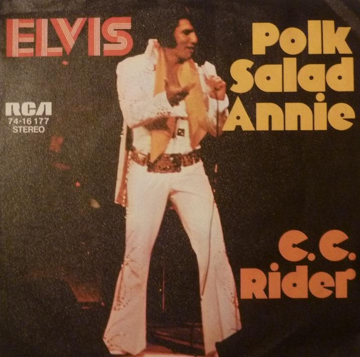 Polk Salad Annie / C.C. Rider Polkfrontth7xj