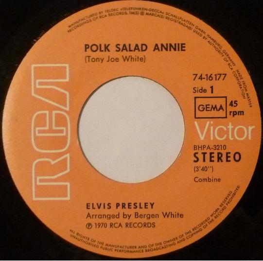 Polk Salad Annie / C.C. Rider Polkside1dmusk