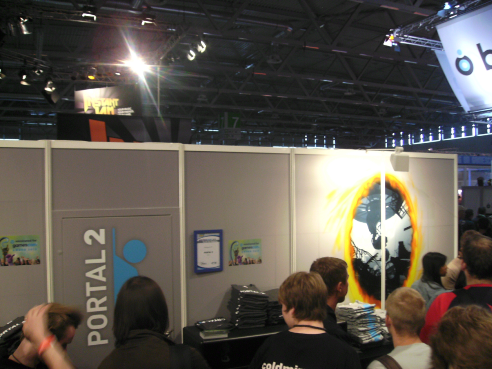 GamesCom 2010 at Cologne - LambdaCore's Impressions Portal2cmzon