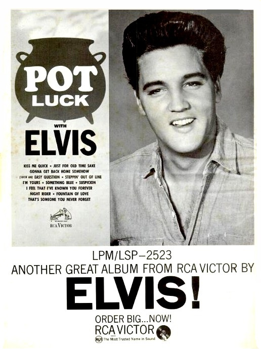 50 Jahre POT LUCK WITH ELVIS Potluck__billboard23.neuiy