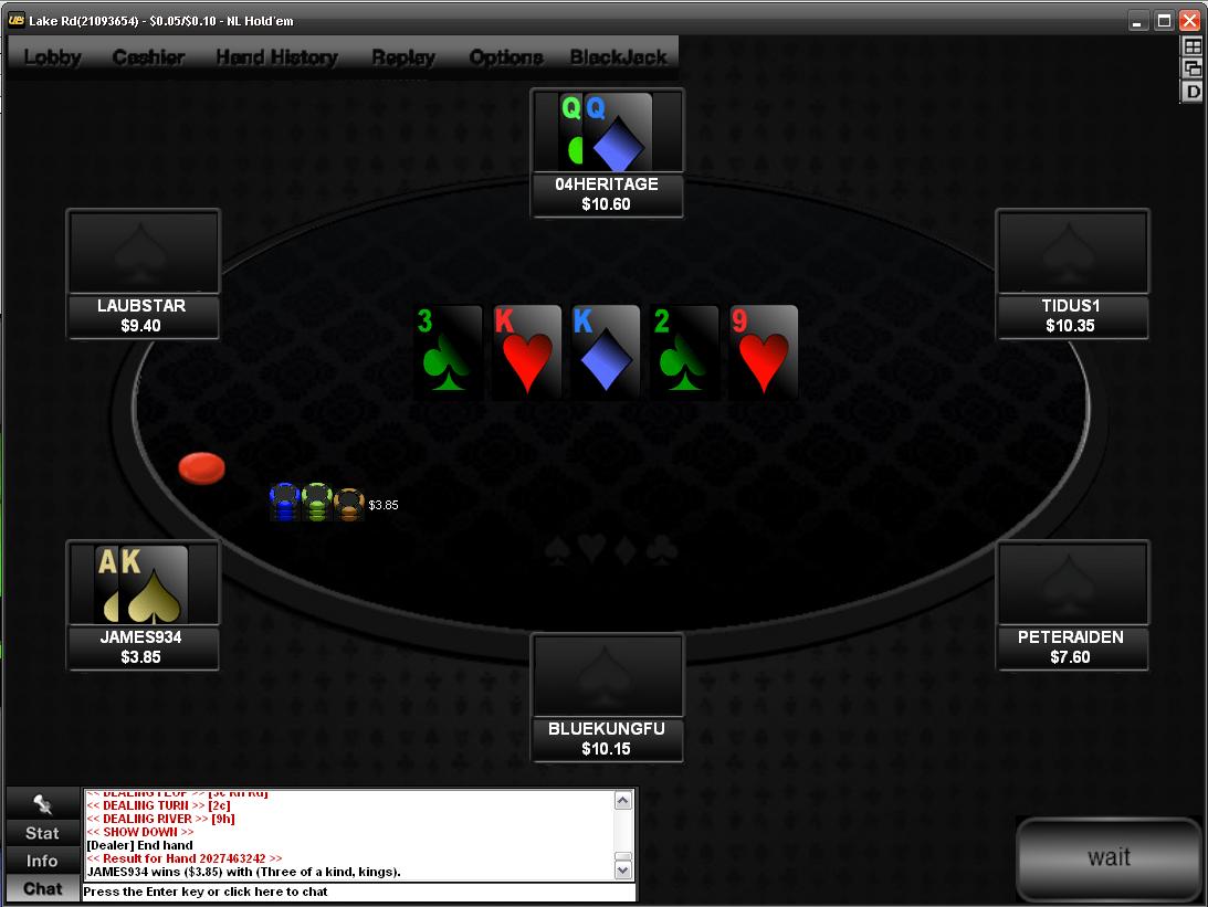 Absolute poker mods