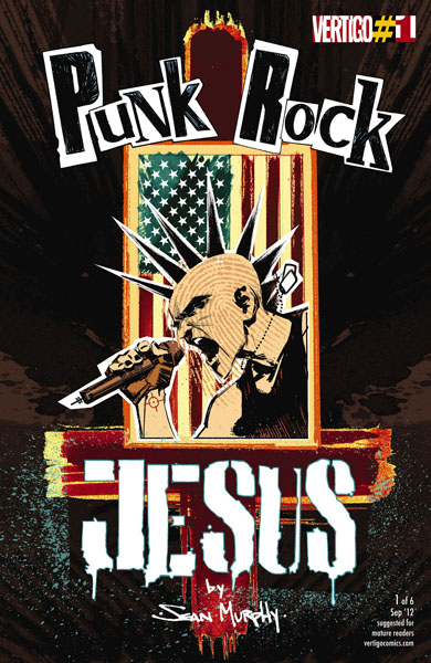 Punk Rock Jesus #1-6 (2012-2013) Complete
