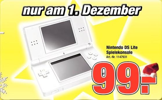 Nintendo DS lite Schnäppchen bei Pro-Markt