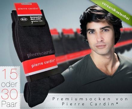 DailyDeal: 15er Pack Pierre Cardin Socken, schwarz für nur 16,95€ inkl. Versand! - 30er Pack für 29,95€
