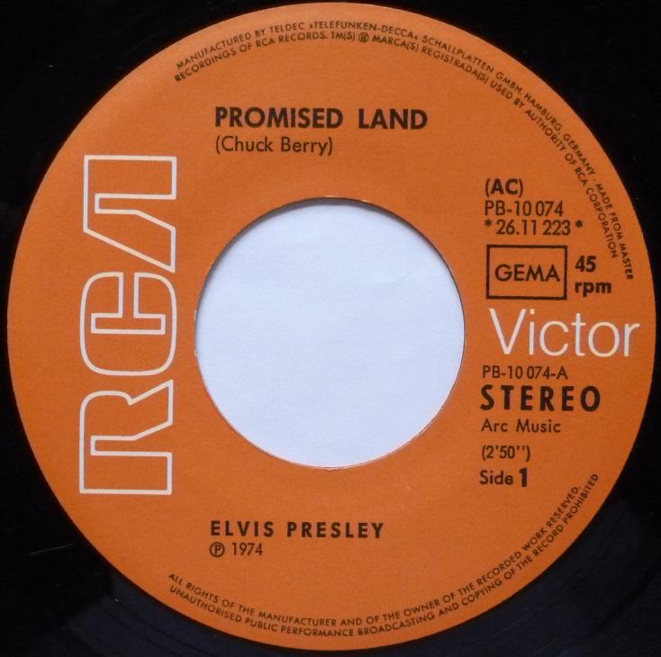 Promised Land / It´s Midnight Promisedside1sdu8v