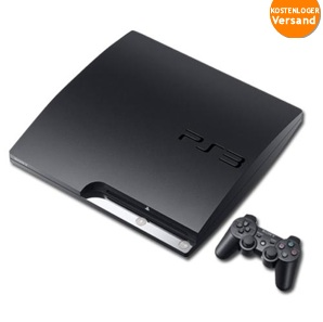 ebay wow sony playstation 3 slim 320gb ps3 konsole f r 229 euro. Black Bedroom Furniture Sets. Home Design Ideas
