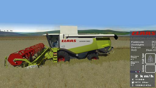 CLAAS Lexion 580 + V900