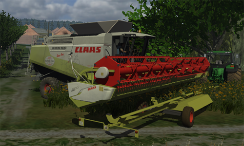 CLAAS Lexion 600TT (Washable, AP, MultiGrain)