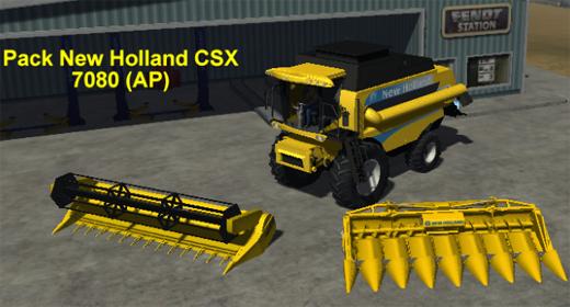 New Holland CSX 7080 Pack (AP)