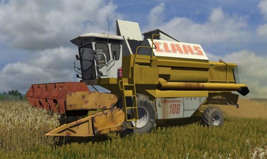 CLAAS Dominator 106 (AP)