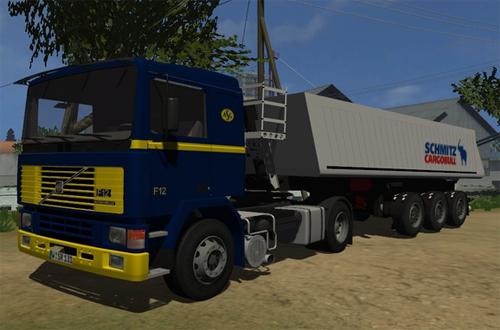 Volvo F12 & Schmitz Cargobull