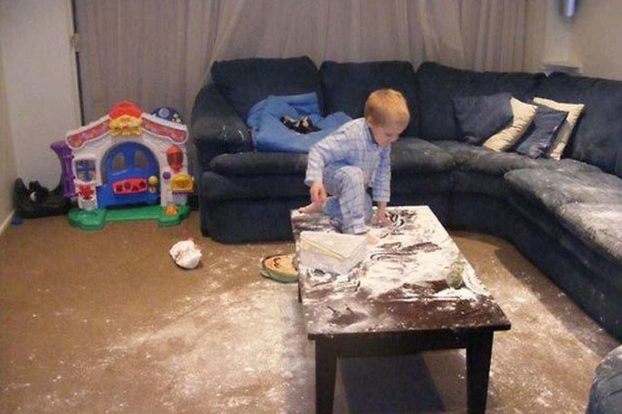 Dzieci same w domu 37