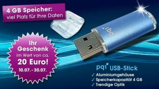 aktion gratis 4gb usb stick bei quelle f r neukunden. Black Bedroom Furniture Sets. Home Design Ideas