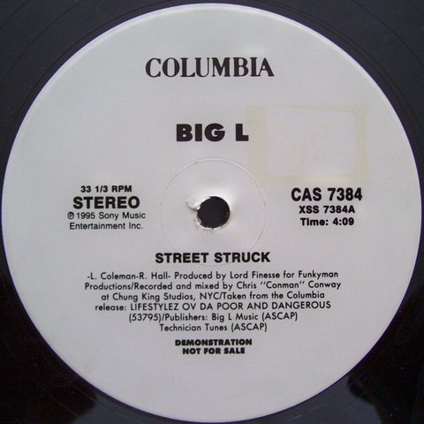Big L – Street Struck (VLS) (1995) (320 kbps)