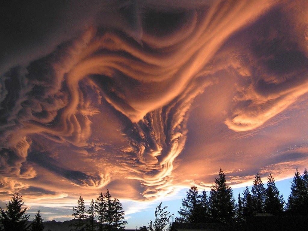 Niezwykłe chmury #4 8