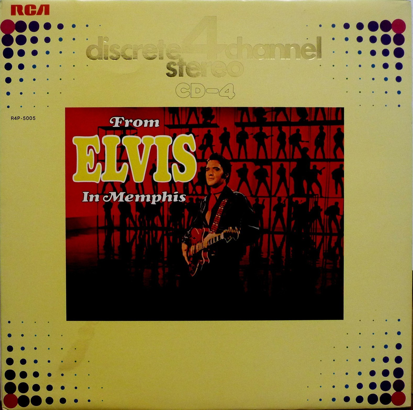 FROM ELVIS IN MEMPHIS R4p-5005abjucs