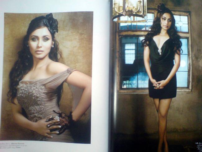 Rani mukherjee escenas de sexo