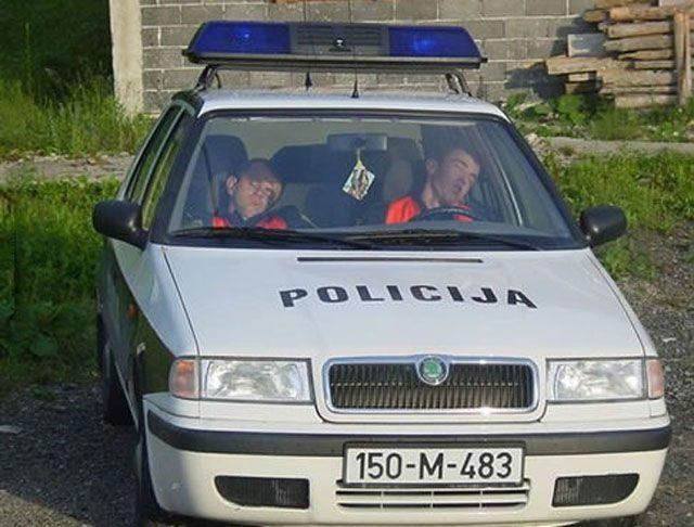 Policja z przymrużeniem oka #2 1