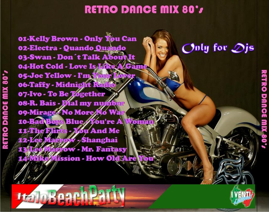 CHINO DJ'S - Retro Dance MIX 80s Vol. 1