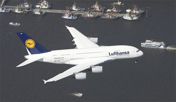 A380 Nordsee