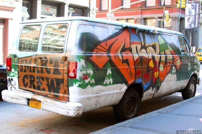 Graffiti na samochodach 11
