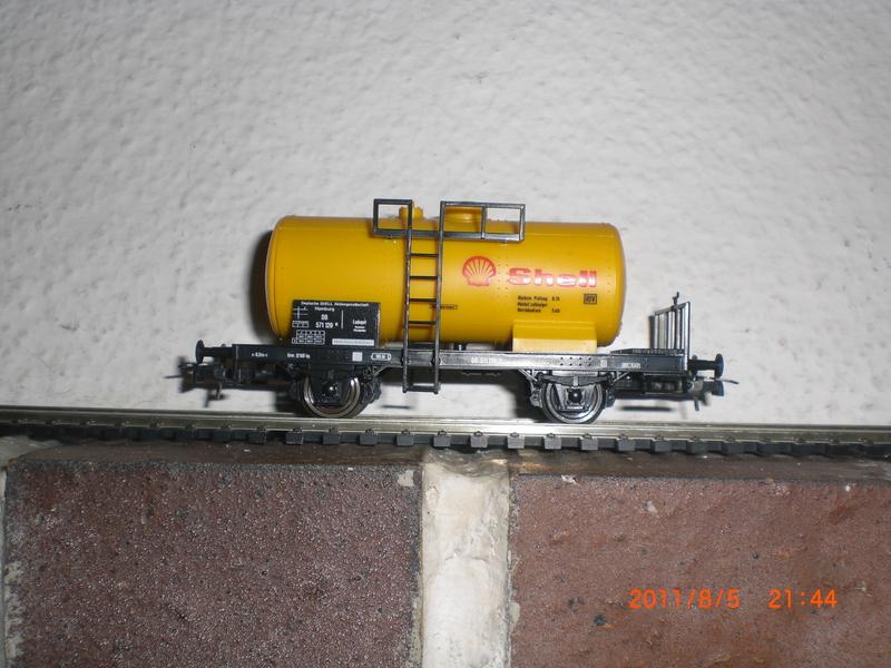 Kesselwagen  Roco4384ashellfugk