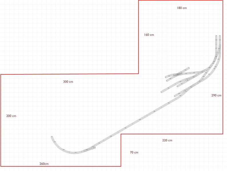 Gleiskombination Hosenträger auf 77,5mm - neuer Entwurf - Stummis ...