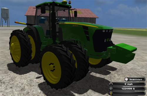 John Deere 8345R US Edition