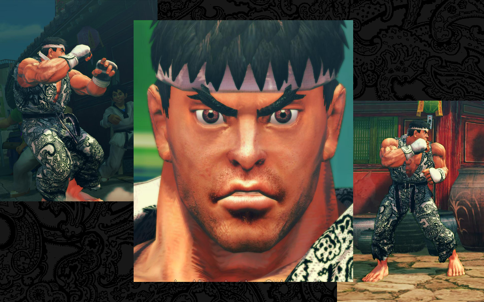 Ryu street fighter 4 face