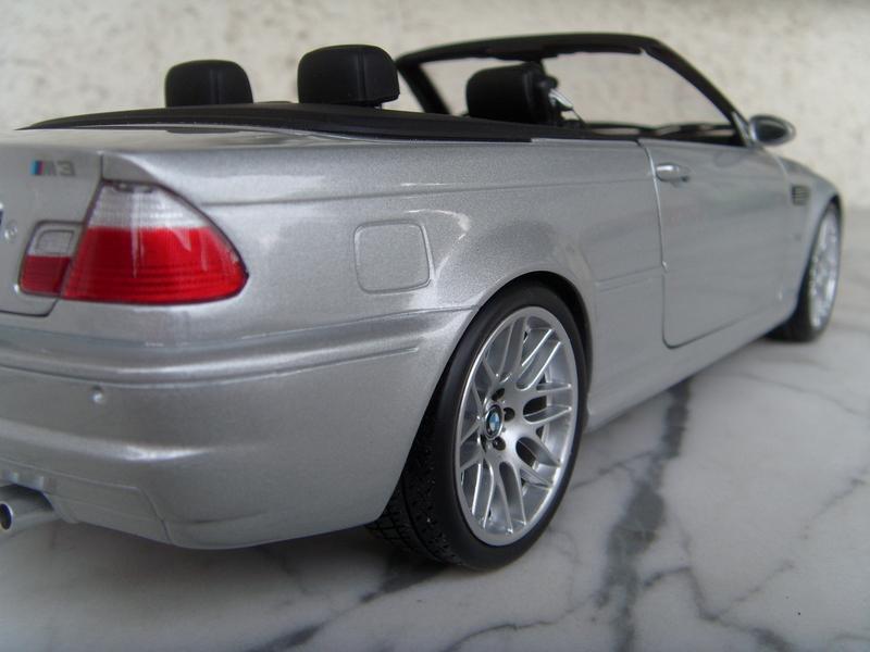 bmw e46 m3 cabrio silber modelcarforum. Black Bedroom Furniture Sets. Home Design Ideas