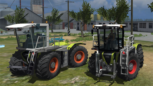 CLAAS Xerion Saddle Trac pack