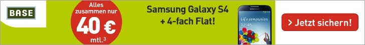 Samsung Galaxy S4 bei Base