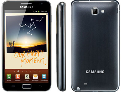 "amazon warehouse: Samsung Galaxy Note N7000 Smartphone für nur 436,81€ inkl. Versand - Android, 16GB, 8MP, 5,3"" Touchscreen"
