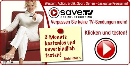 save.tv 3 Monate kostenlos testen