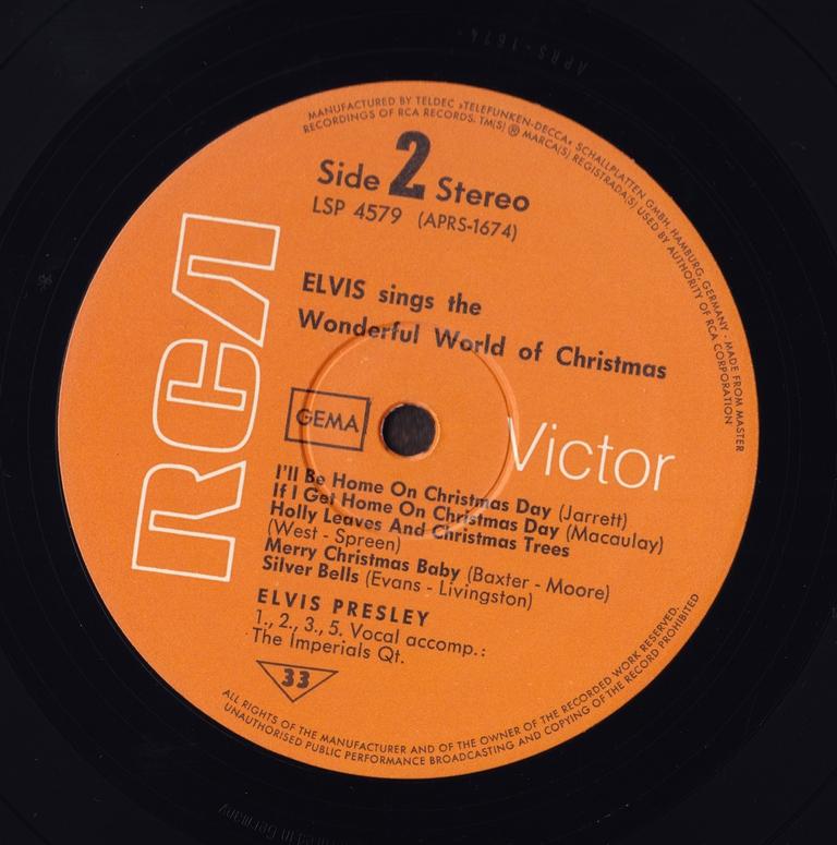 ELVIS SINGS THE WONDERFUL WORLD OF CHRISTMAS Scan10hajkj