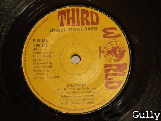 Cover: Dillinger - Flat Foot Hustlings (7 Inch)-VLS-1977-Gully