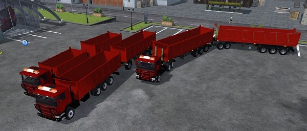 Scania Agro Pack Red –  Farming Simulator 2013 Mod