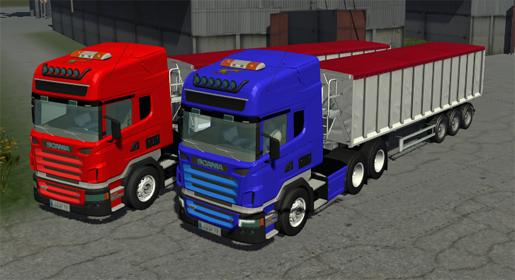 Scania R470 V8 SZM Pack