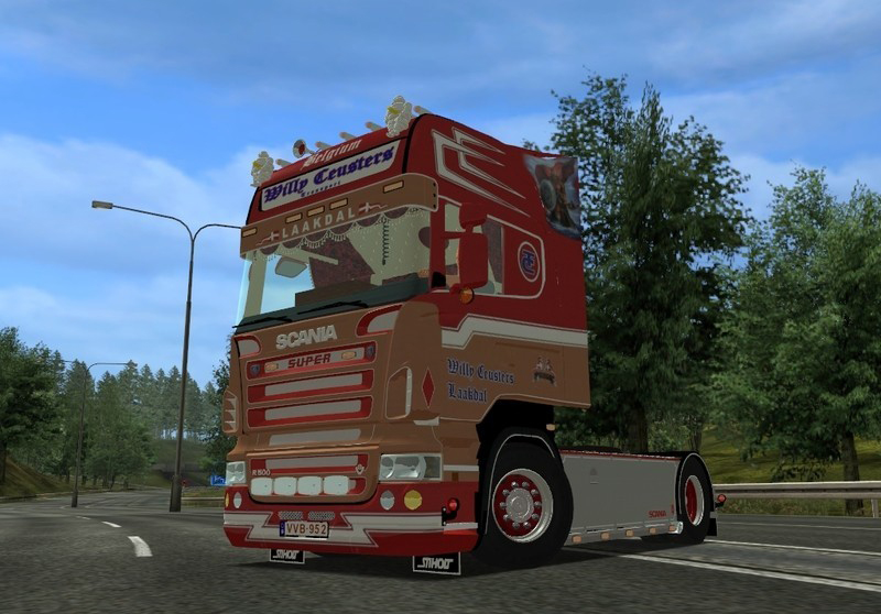 Scania R500 Willy Ceusters Transport